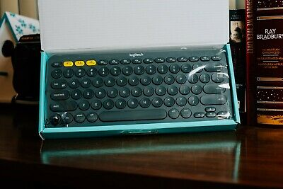 Logitech 920-007558 K380 Multi-Device Bluetooth Keyboard - Grey, used for sale  Shipping to India