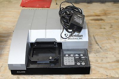 Bio Tek Instruments Meridian Bio Elx800 Absorbance Microplate Auto Reader