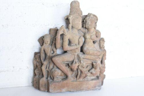 10th - 12th CENTURY VISHNU STELE Sculpture Sandstone Punjab India Lakshmi