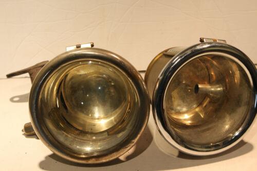 Vintage 1920's CADILLAC Electric Cowl Fender BRASS Head Lights GRAY & DAVIS