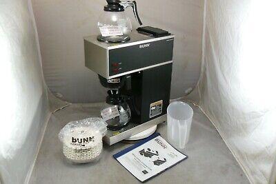 Bunn Vpr 33200.0002 Pourover Coffee Brewer W2pots 1 Pitcher 250 Bunn Filters
