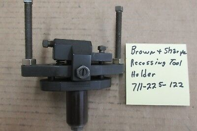 Brown Sharpe Recessing Tool Holder 1 Shank