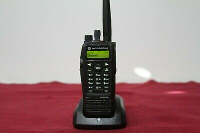 Motorola Trbo Xpr6580 806-941 Mhz 1000 Ch Connect Plus Digital Aah55uch9lb1an