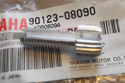 YAMAHA IT200 IT250 YZ490 YZ250 TT600 GENUINE CABLE ADJ' SCREW - # 90123-08090