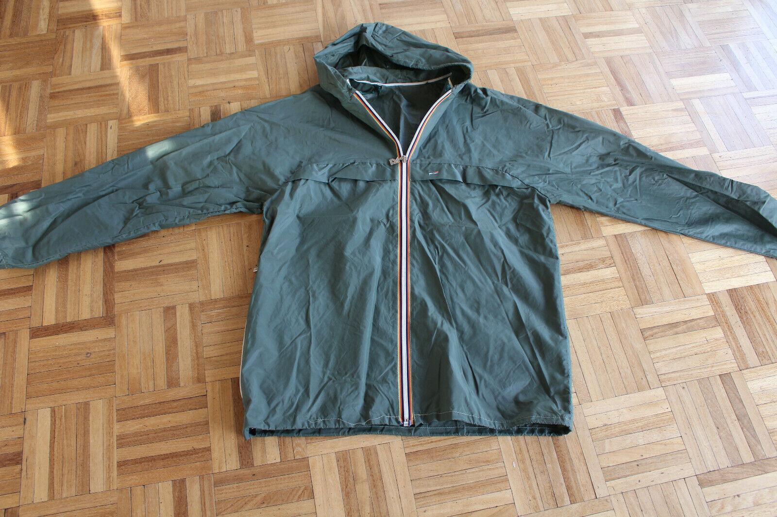 K Way Vintage Regenjacke Größe L
