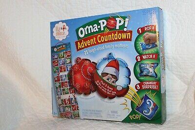 Orna-Pop Advent Countdown Elf on the Shelf