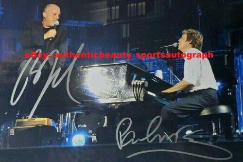 PAUL MCCARTNEY BILLY JOEL BEATLES DUAL AUTO SIGNED 12x18 POSTER PHOTO REPRINT RP