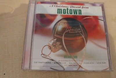 VARIOUS - A CHRISTMAS PRESENT FROM MOTOWN VOLUME TWO (CD ALBUM)  ()