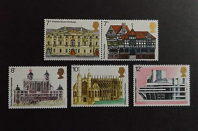 GB MNH STAMP SET 1975 European Architectural Heritage Year SG 975-979 10% OFF 5+