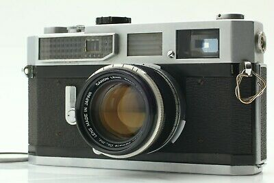 【Near MINT- 】 Canon 7 Rangefinder Camera w/ 50mm f1.8 L39 Lens from JAPAN T056