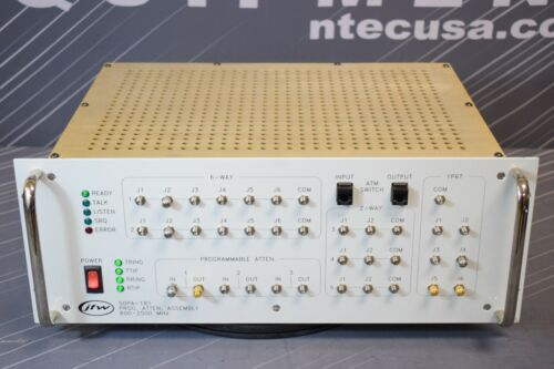 JFW Industries 50PA-181 Programmable Attenuator Assembly 800 - 2500 MHz