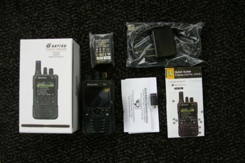 UNICATION G5 VHF / 700-800 MHz P25 TRUNKING, CONVENTIONAL DUAL BAND VOICE PAGER