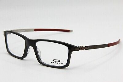NEW OAKLEY OX8050-0553 BLACK PITCHMAN AUTHENTIC EYEGLASSES FRAME RX 53-18