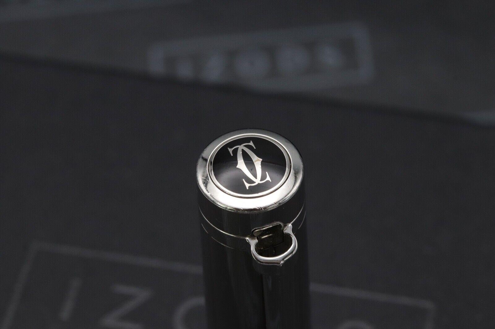 Cartier Pasha de Cartier Striped Silver-Plated Fountain Pen 4