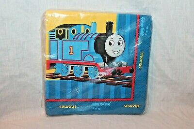 NEW IN PACKAGE THOMAS THE TRAIN 16- LUNCH NAPKINS PARTY SUPPLIES