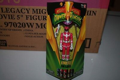 Power  Rangers  Legacy Movie Pink Ranger Kimberly  Mimsb New 5 Inch Bandai