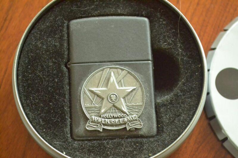 ZIPPO Lighter, Stars of Hollywood, Walk of Fame - 218HW.103, 2000, Unfired, M654