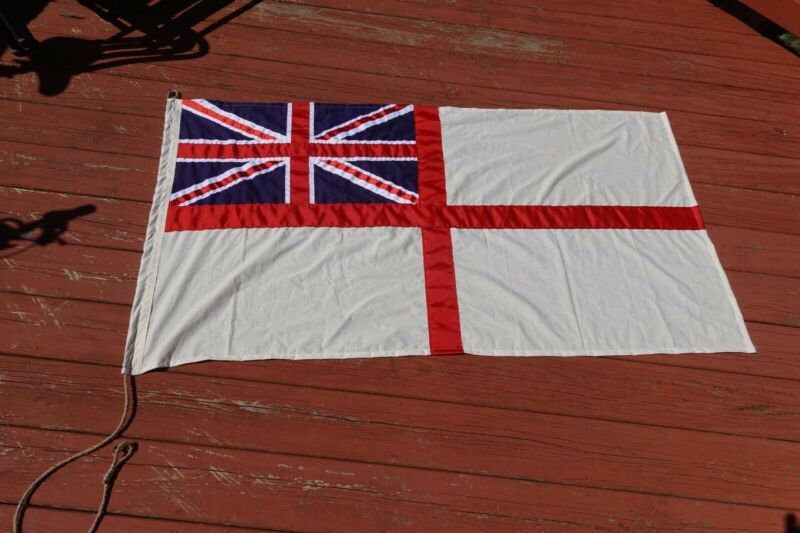 ww2 british UK royal navy jack flag 60x30 inches made of cotton