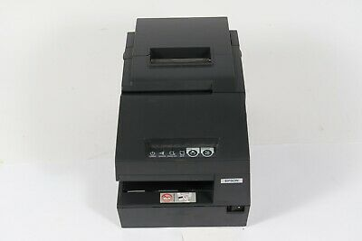 Epson Tm-h6000ii M147g Pos Receipt Printer Gray W Power Adapter