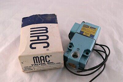 Mac Solenoid Valve 225b-121c 150 Psi 15w 15 Watt 3 Port New In Box 24vdc 22050