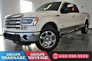 FORD F-150 LARIAT - 4X4 - CREW CAB + TOIT OUVRANT + CUIR +ECOBOO