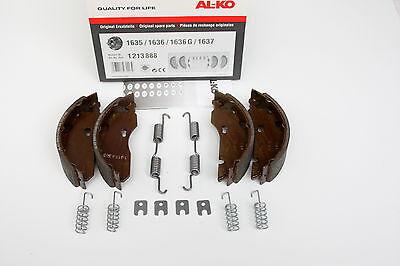 Original Bremsbacken ALKO Bremse 1635 1636 1637 AL-KO Set 47 160x35 Bremsbelag