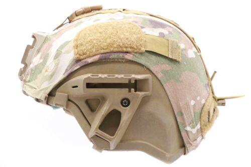 Large US Army Ceradyne Inc. IHPS Integrated Head Protection System ECH Helmet