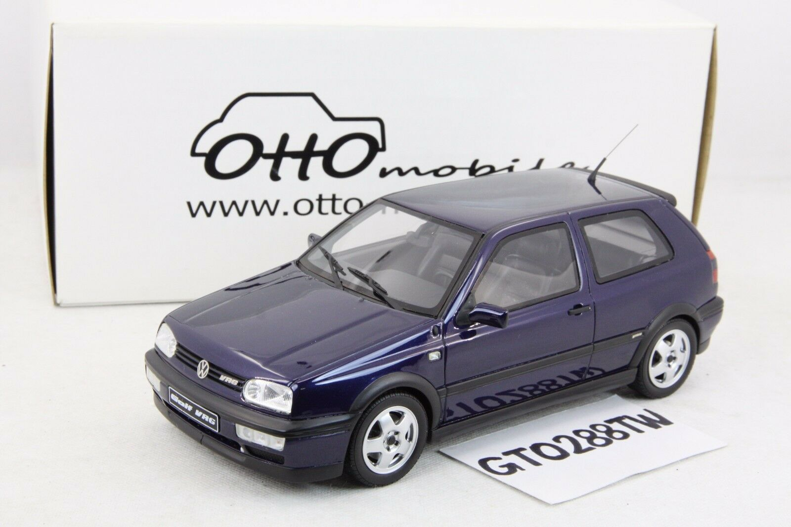 Otto Ottomobile 1 18 Scale Volkswagen Vw Golf 3 Vr6 Blue Le