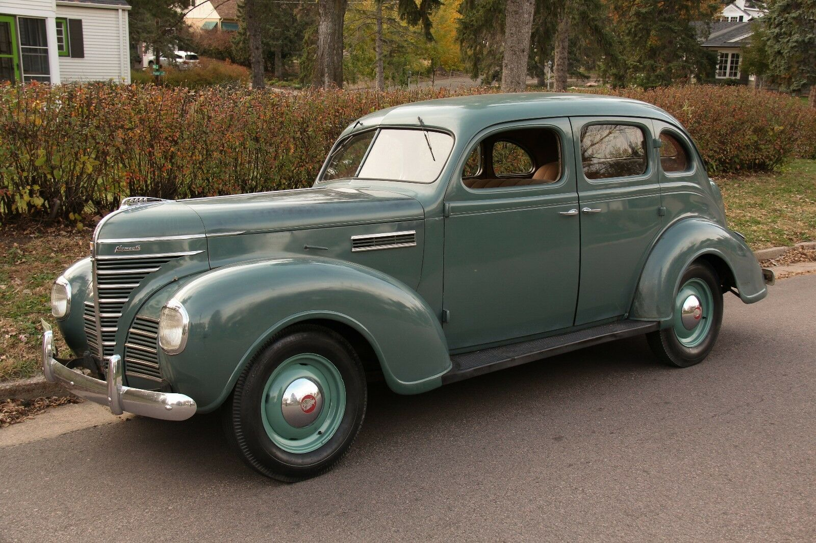 1939 Plymouth P8 Sedan 2 Owner 43 409 Actual Miles