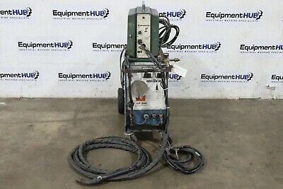 Miller Cp-200 200 Amp Mig Welder W Mk 3a Cobramatic Wire Feeder Push Pull Gun
