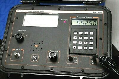Wavetek Sam 1000 Signal Analysis Meter Slm 50-557.875 Mhz W Calibration Tool