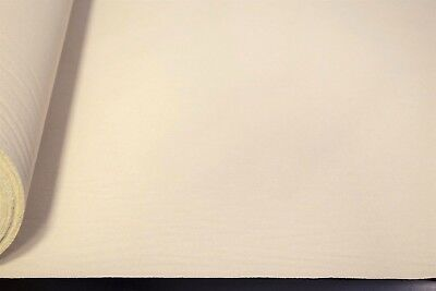 Natural White 100% Cotton Canvas Duck Fabric 62