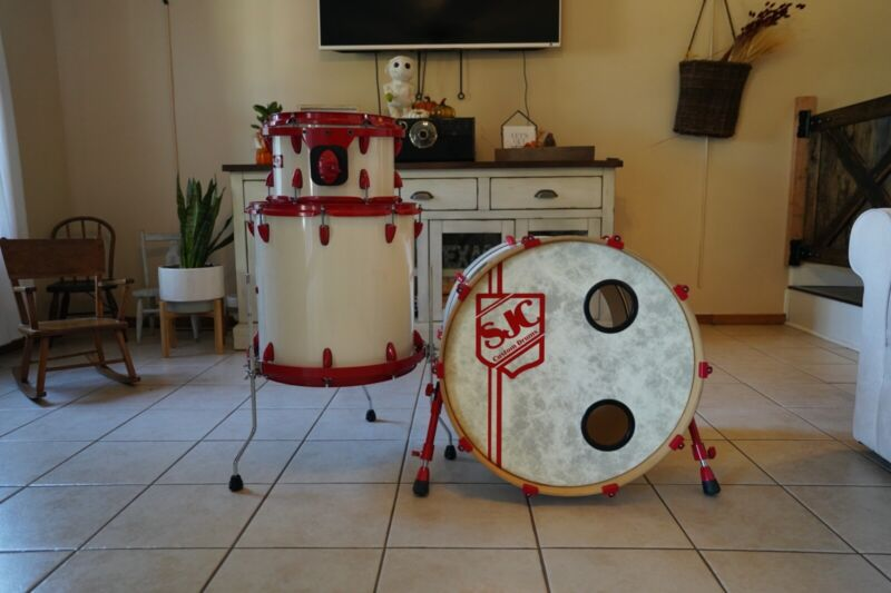 SJC Custom Drums. 3 Piece