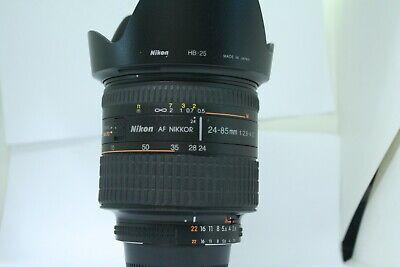 Nikon AF Nikkor 24-85mm F/2.8-4 D IF Macro Lens