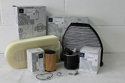 Genuine Mercedes-Benz W212 E-Class E200 220 250 Diesel OM651 Filter Service Kit
