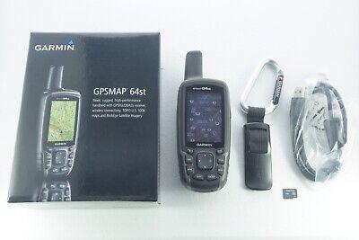 Garmin GPSMAP 64st Handheld GPS w/ TOPO U.S. 24K Maps Upgrade Choose Any Region!
