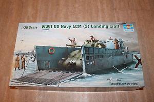 Trumpeter 00347 WW2 US Navy LCM (3) Landungsboot 1:35 NEU OVP