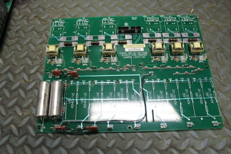 GE GENERAL ELECTRIC FANUC CONTROLLER BOARD DS200PCCAG10A DS200PCCAG10ACB