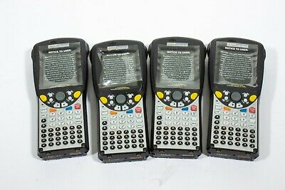 New Lot Of 4 Psion Teklogix 7525m-e-g1 Wa4002-g1 Workabout Pro