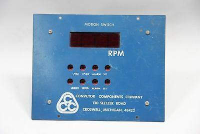 Conveyor Components Motion Control Switch 4 Digit Display - Used