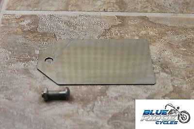 08 POLARIS <em>VICTORY</em> VISION OEM REAR LICENSE PLATE BRACKET BACK TAG
