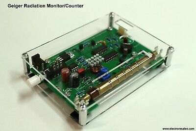Assembled Geiger Counter Nuclear Radiation Detector Beta Gamma Ray - No Tube