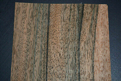 Ebony Raw Wood Veneer Sheets 4.75 X 45 Inches 142nd Thick  G7868-40