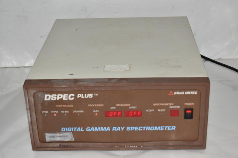 ORTEC DSPEC Plus Digital Gamma Ray Spectrometer  (GW44)