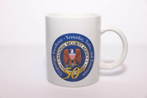 NSA 50th Anniversary Cryptologic Excellence Coffee Mug