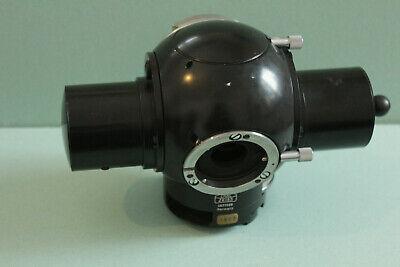 Carl Zeiss West Microscope Trinocular Head Photomicroscope Part Tube Pol