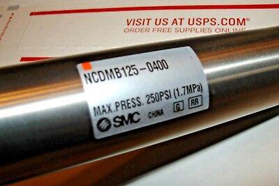 Smc Air Piston Cylinder Ncdmb125-0400 8 12 Oal