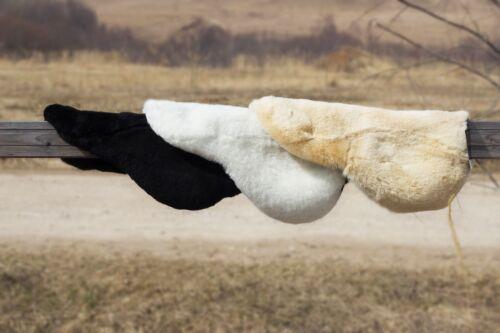 Saddle Cover | 100% Genuine Siberian Sheepskin | Universal Size