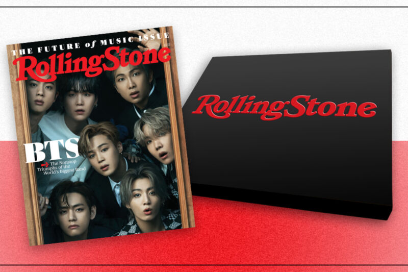 BTS Rolling Stone June 2021 Collector's Box Set 8 Covers PRE-ORDER (Read Descr)