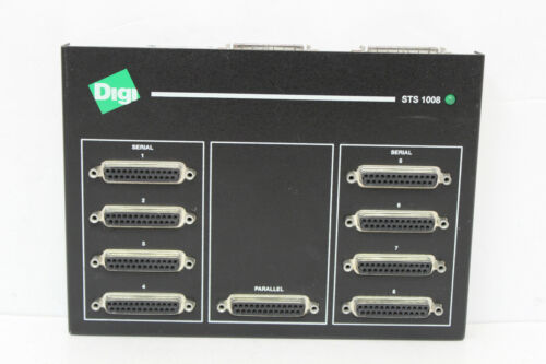 DIGI 70001450 STS 1008 SCSI TERMINAL SERVER WITH AC ADAPTER WITH WARRANTY